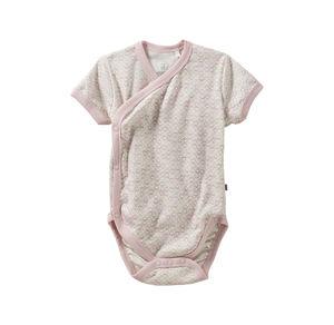 Liegelind Baby-Mädchen-Wickelbody mit Herzchen-Muster