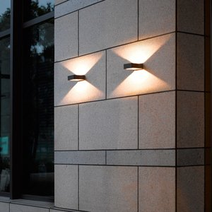 Trio LED-Außenwandleuchte   Reno