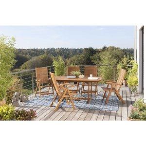 Gartentisch mit Auszug   Provence 180/230x100 cm