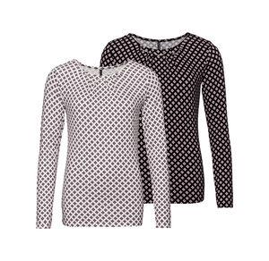 Laura Torelli COLLECTION Damen-Shirt mit kleinen Karos