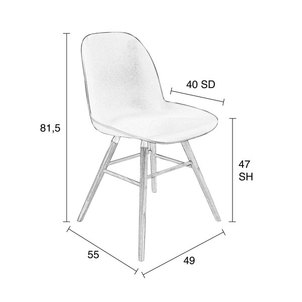 Zuiver Stuhl Albert Kuip Von Segmüller Für 119 Ansehen Discountode