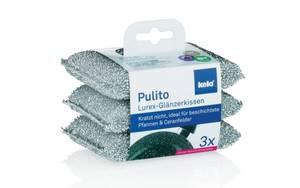 Kela - Glänzerkissen Pulito, 3-teilig