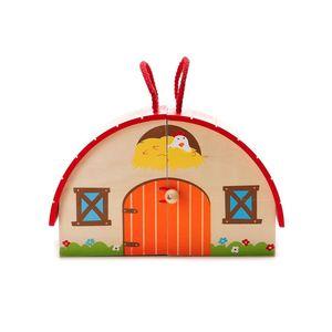 Spieleset Farm, 16-teilig, 22x11x15cm, bunt