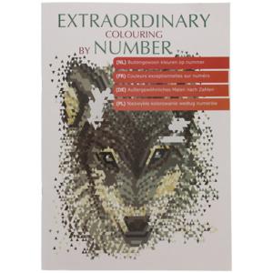 Malen nach Zahlen Malbuch