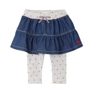 LEVI'S® KIDS   Jeansrock mit Leggings Herzen