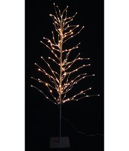 Dehner LED-Weihnachtsbaum, schwarz