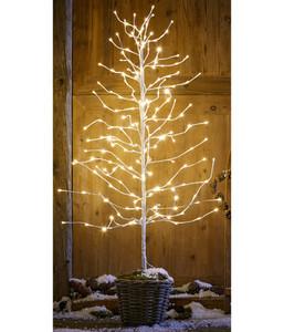Dehner LED-Weihnachtsbaum, weiß