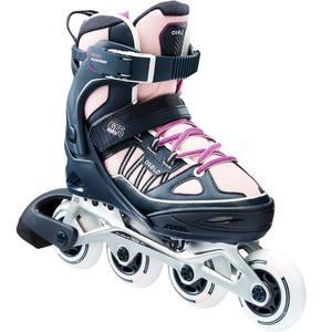 Inline-Skates Inliner FIT 5 Kinder blau/rosa