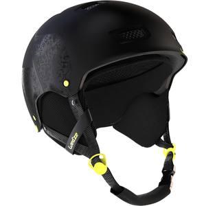 Skihelm H-FS 300 Erwachsene schwarz/gelb
