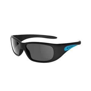 Sonnenbrille Teen 300 Kategorie 4 Kinder von 7-9 Jahren schwarz