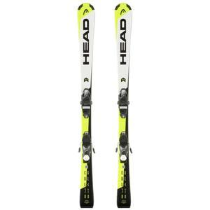Ski Supershape SLR2 Kinder weiß/gelb/schwarz
