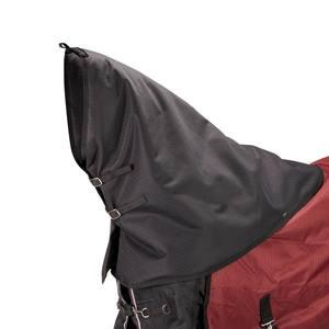 Halsteil Neckcover Allweather 300 Pferd schwarz