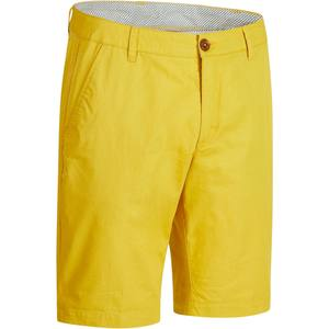 Golf Bermuda Shorts 500 Herren mildwarm gelb