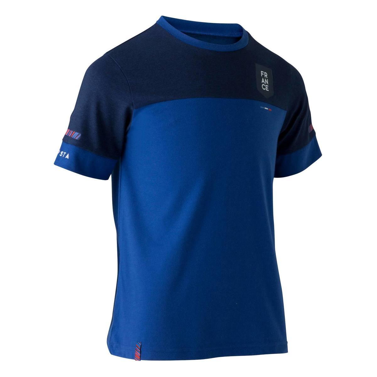 Bild 1 von Fußballshirt FF100 Frankreich Kinder blau