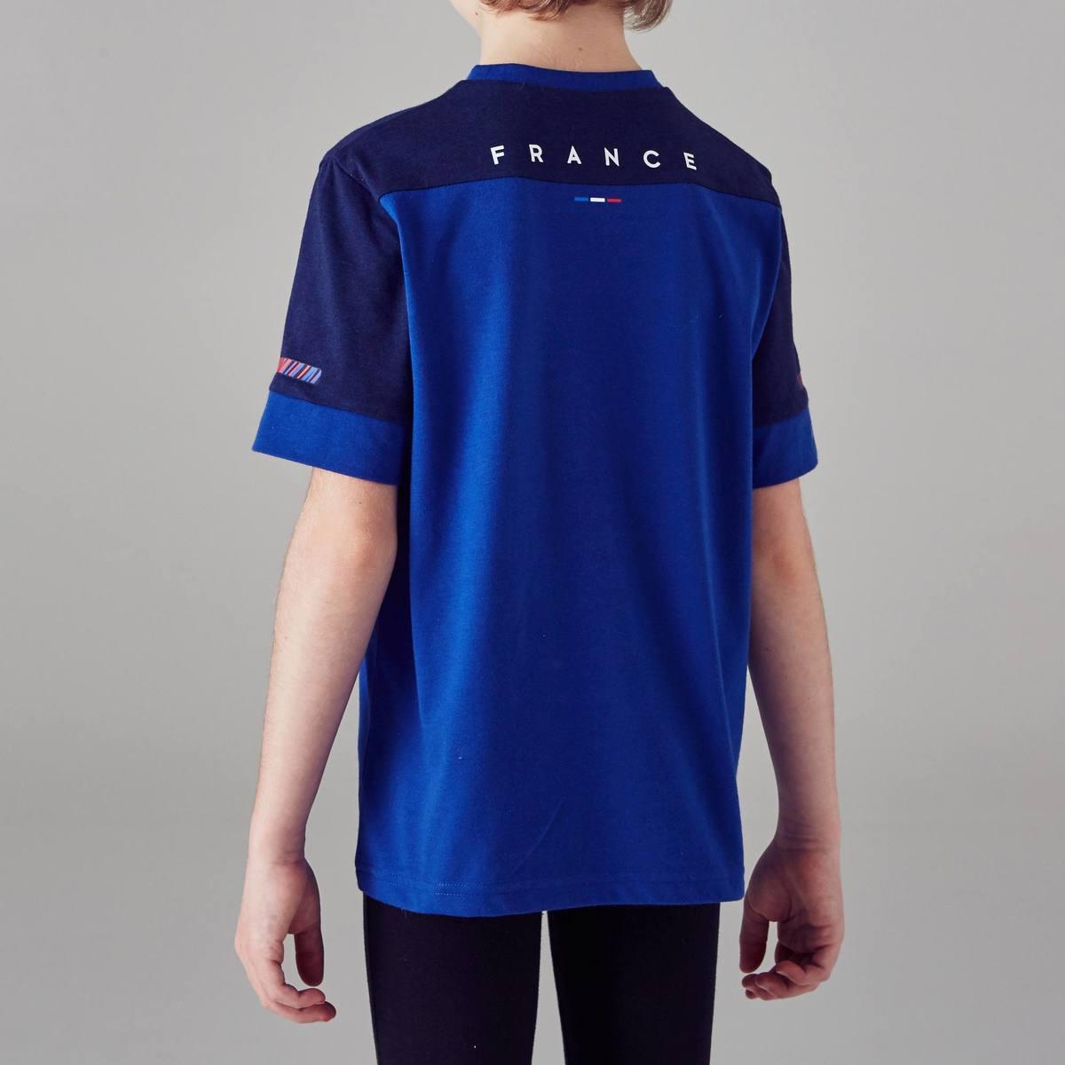 Bild 5 von Fußballshirt FF100 Frankreich Kinder blau