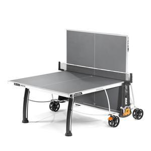 Tischtennisplatte Crossover 300S Outdoor grau inkl. Schutzhülle