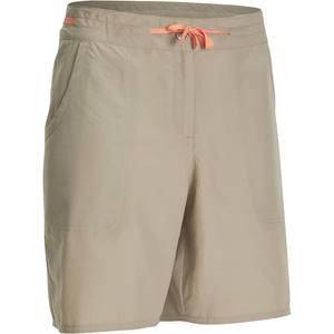 Shorts Forclaz 50 Damen beige