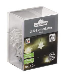 Dehner LED-Lichterkette Stern, 10 Lichter