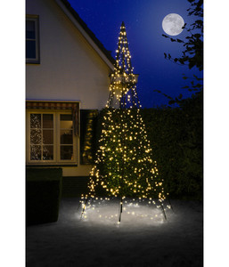 Fairybell Weihnachtsbaum inkl. Mast, 640 LEDs, H 400 cm