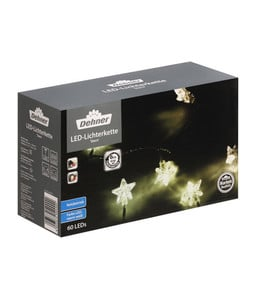 Dehner LED-Lichterkette Stern, 60 Lichter