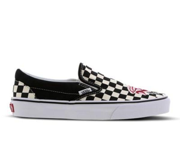 On Damen Foot Ansehen Von Schuhe Vans Locker Ua Classic Slip QCxWBorde