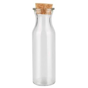 Glasfläschchen mit Korken lang
