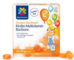 MULTINORM Kinder-Multivitamin-Bonbons