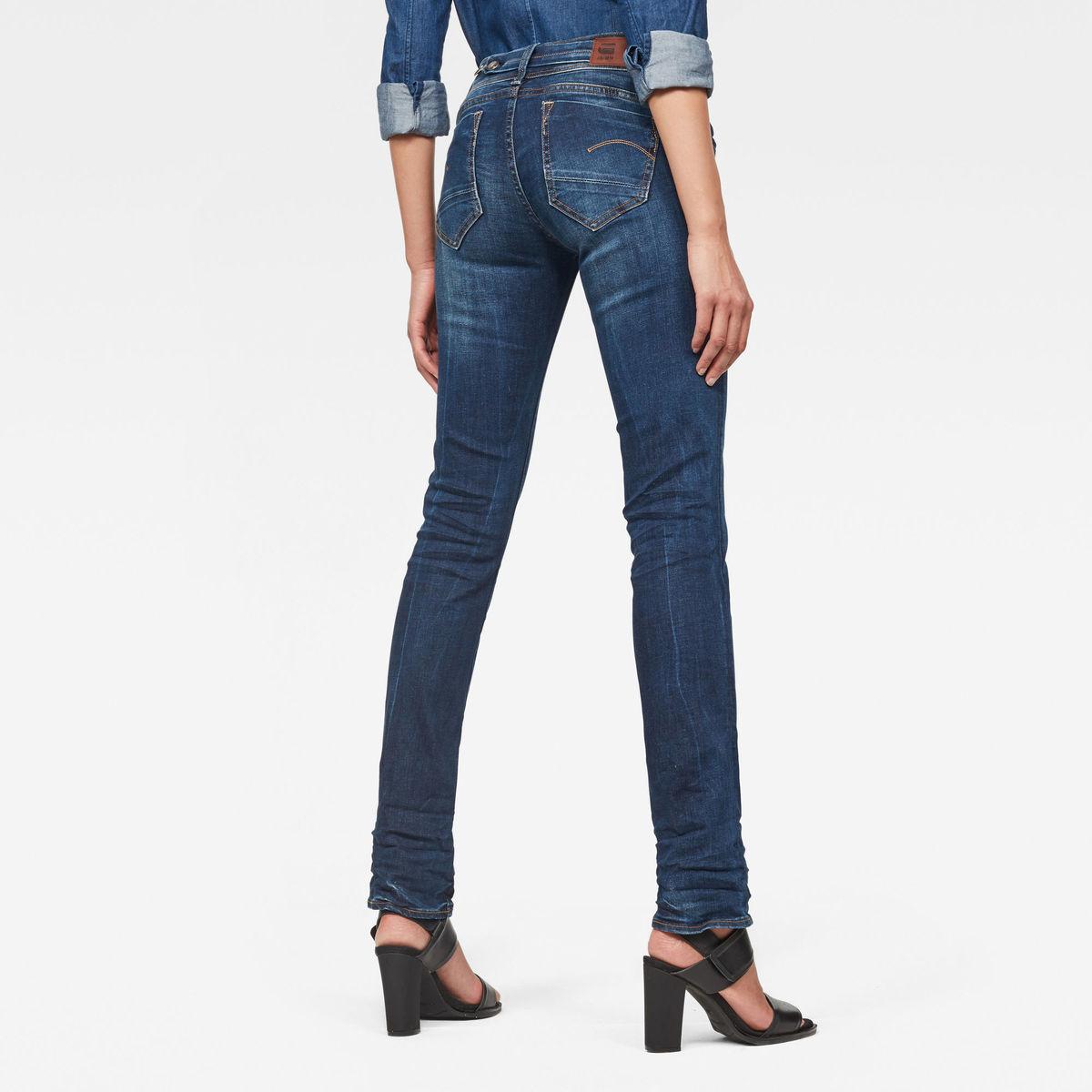 Bild 2 von Midge Saddle Mid Waist Straight Jeans