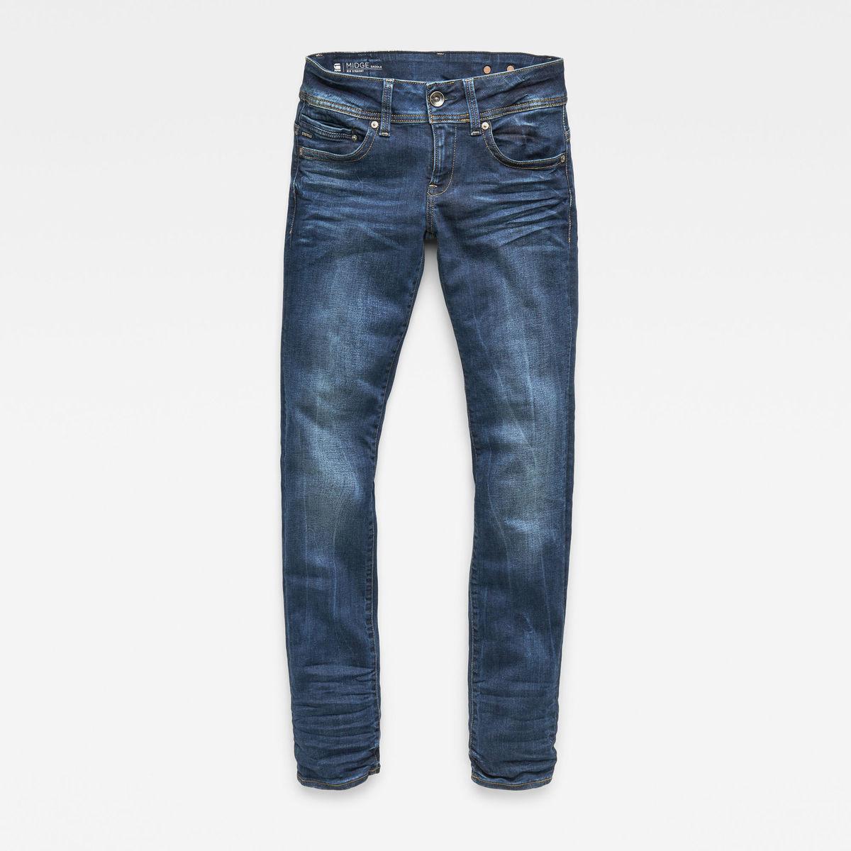 Bild 4 von Midge Saddle Mid Waist Straight Jeans