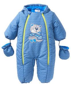 Ergee - Schneeanzug - Bär, Handschuhe