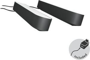 Philips         Hue Play LED Tischleuchte, WACA, Doppelpack inkl. Netzteil                     Schwarz