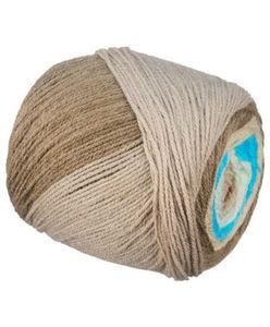Strickgarn - mehrfarbig - ca. 150 g