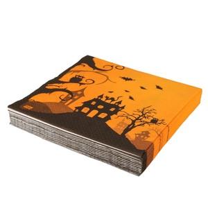 Servietten, Halloween, Spukhaus, 33 x 33 cm