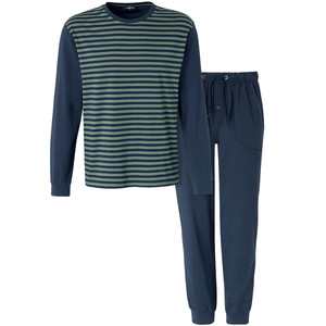 Herren Schlafanzug mit Streifen-Design