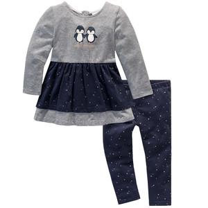 Baby Langarmshirt und Leggings im Set