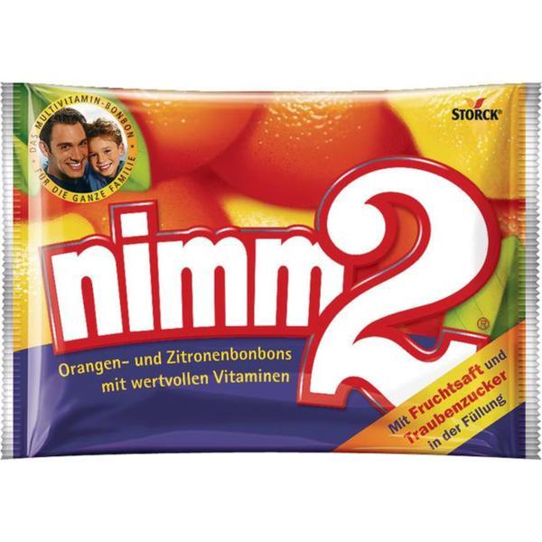 nimm2 Orangen- und Zitronenbonbons mit Vitaminen 682.76 EUR/100000 g