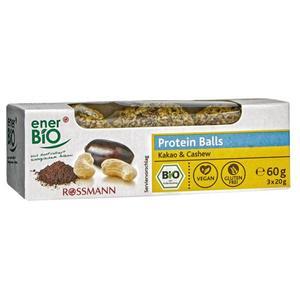 enerBiO Bio Proteinballs Kakao & Cashew 2.82 EUR/100 g