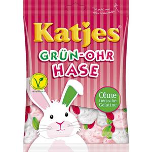 Katjes Grün-Ohr Hase 0.50 EUR/100 g
