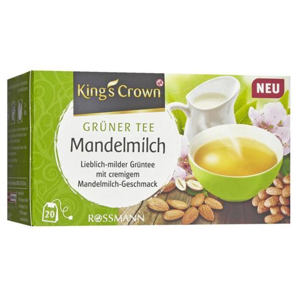 King´s Crown Grüner Tee Mandelmilch 2.26 EUR/100 g