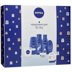 NIVEA Verwöhnpflege Für Dich Geschenkset mit exklusiver Duftkerze