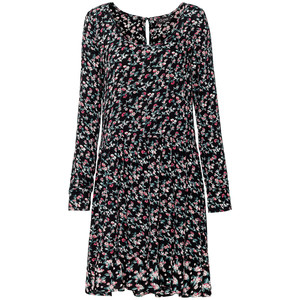 Damen Kleid im Millefleur-Design