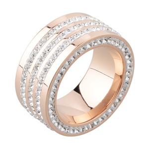 Damen Ring aus Edelstahl