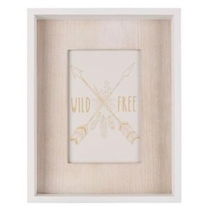 Bilderrahmen, Holz, 18 x 23 x 3 cm, weiß