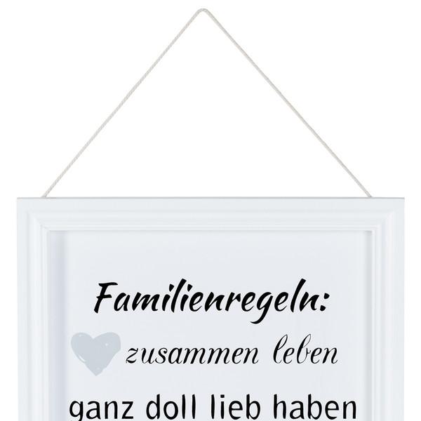 Bild Mit Familienregeln