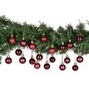 Bild 2 von Weihnachtskugeln, 3 cm, 20er-Set, rosa,