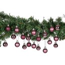 Bild 3 von Weihnachtskugeln, 3 cm, 20er-Set, rosa,