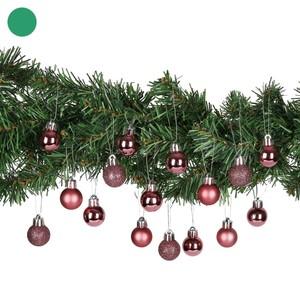 Weihnachtskugeln, 2,5 cm, 16 Stück, verschiedene Farben