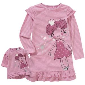 Mädchen Nachthemd und Puppenshirt
