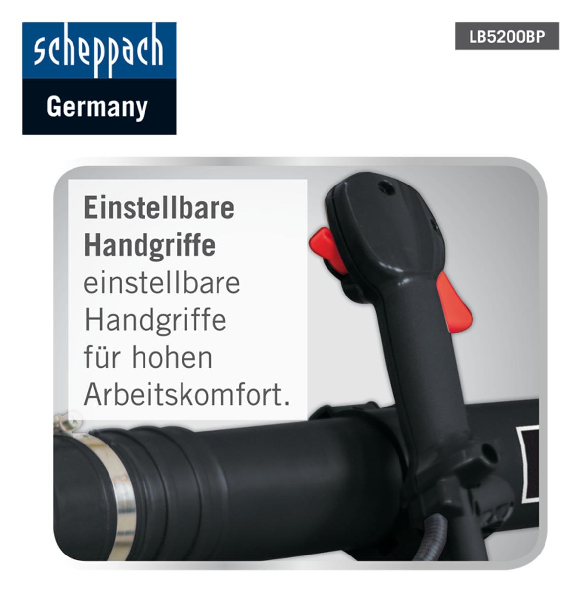 Bild 4 von Scheppach Backpack Laubbläser LB5200BP