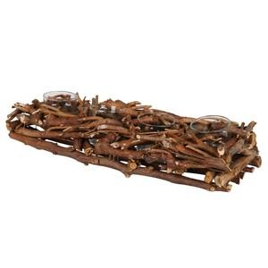 Adventsgesteck, Weidenholz, 50 cm